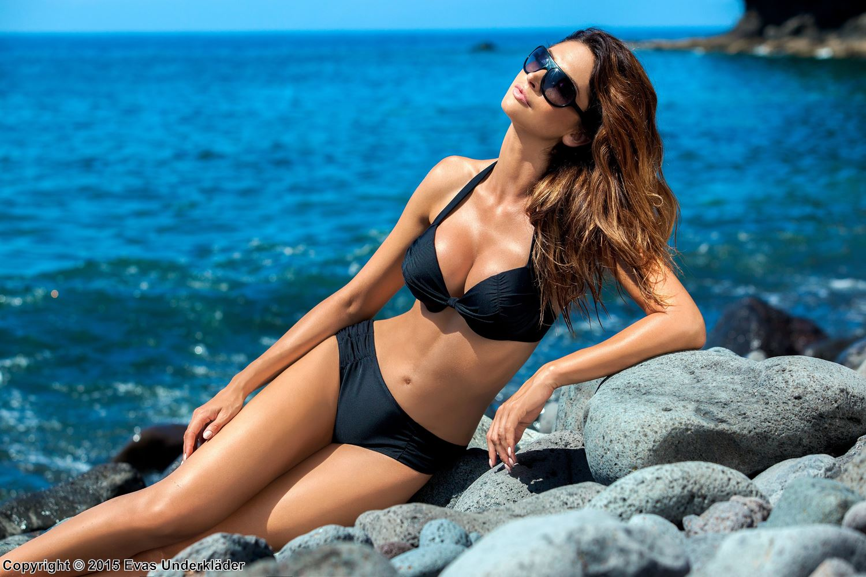 Elegant bikini-set med push-up